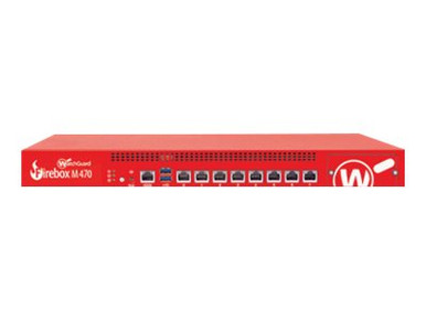 WGM47641 -- WatchGuard Firebox M470 - Security appliance - with 1 year Total Security Suite - 8 ports  -- New