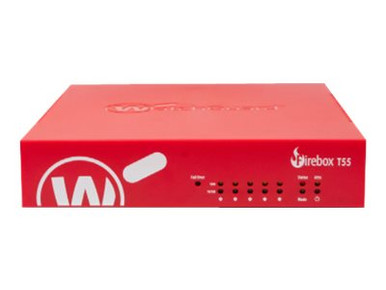 WGT55001-WW -- WatchGuard Firebox T55 - Security appliance - with 1 year Standard Support - 5 ports - Gig