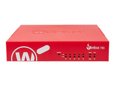 WGT55693-US -- WatchGuard Firebox T55 - Security appliance - with 3 years Total Security Suite - 5 ports  -- New