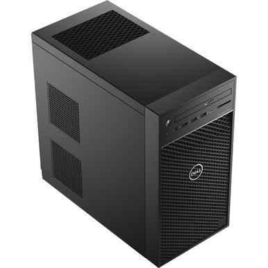 YRKPF -- Dell Precision 3630 Tower - MT - 1 x Core i7 8700 / 3.2 GHz - RAM 16 GB - SSD 256 GB - NVM