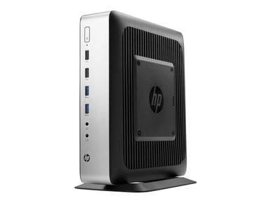 4FH58UT#ABA -- HP t730 - Thin client - tower - 1 x RX427BB 2.7 GHz - RAM 8 GB - flash 64 GB - Radeon HD 9