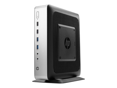 4RU24UT#ABA -- HP t730 - Thin client - tower - 1 x RX427BB 2.7 GHz - RAM 8 GB - flash 64 GB - Radeon HD 9