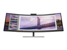"""5FW74A8#ABA -- HP S430c - LED monitor - curved - 43.4"""" (43.4"""" viewable) - 3840 x 1200 4K UHD (2160p) @ 60 -- New"""
