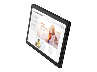 5QK76UT#ABA -- HP Engage Go Mobile - Tablet - Core m3 7Y30 / 1 GHz - Win 10 Pro 64-bit - 8 GB RAM - 128 G
