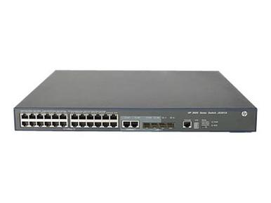JG306C#ABA -- HPE 3600-24-PoE+ v2 SI - Switch - managed - 24 x 10/100 (PoE+) + 4 x Gigabit SFP + 2 x sha -- New