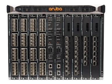JL376A#B2B -- HPE Aruba 8400 8-slot Chassis - Switch - 32 x 10 Gigabit Ethernet + 6 x 40 Gigabit / 100 G -- New