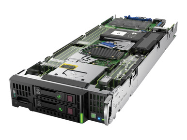 779803-S01 -- HPE ProLiant BL460c Gen9 - Server - blade - 2-way - 2 x Xeon E5-2690V3 / 2.6 GHz - RAM 128 GB - SAS