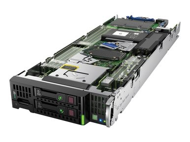 727029-B21 -- HPE ProLiant BL460c Gen9 E5- 2650v3 1P 32GB-R P244br Base Server
