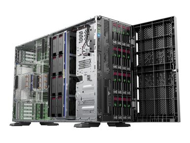 765820-001 -- HPE ProLiant ML350 Gen9 Base - Server - tower - 5U - 2-way - 1 x Xeon E5-2620V3 / 2.4 GHz  -- New