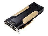 Q0V80C -- NVIDIA Tesla P40 - GPU computing processor - Tesla P40 - 24 GB GDDR5 - PCIe 3.0 x16 - fanl -- New