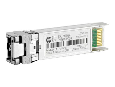 J9153A -- HPE X132 - SFP+ transceiver module - 10 GigE - 10GBase-ER - LC - for HPE Aruba 2930F 24G,  -- New