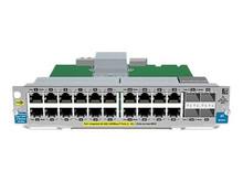 J9535A -- HPE 20-port Gig-T PoE+/4-port SFP v2 zl Module - Expansion module - Gigabit Ethernet (PoE+ -- New