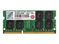 TS256MSK72V3N -- Transcend - DDR3 - module - 2 GB - SO-DIMM 204-pin - 1333 MHz / PC3-10600 - CL9 - 1.5 V - unbuffered
