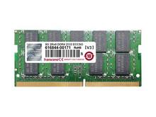 TS1GSH72V4B -- 8GB DDR4 2400MHZ ECC-SODIMM     SR X8 1GX8 CL17 12V