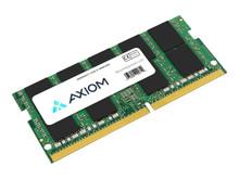 AX42666ES19B/16G -- Axiom - DDR4 - module - 16 GB - SO-DIMM 260-pin - 2666 MHz / PC4-21300 - CL19 - 1.2 V - unbuffered -