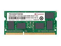 TS512MSK72W3H -- 4GB DDR3L 1333MHZ ECC-SODIMM    SR X8 512MX8 CL9 1.35V              -- New