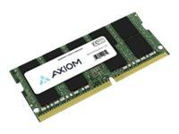 D4ECSO-2400-16G-AX -- Axiom AX - DDR4 - module - 16 GB - SO-DIMM 260-pin - 2400 MHz / PC4-19200 - CL17 - 1.2 V -