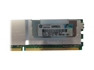 416473-001 -- HPE TDSourcing - DDR2 - 4 GB - FB-DIMM 240-pin - 667 MHz / PC2-5300 - fully buffered - ECC -- New