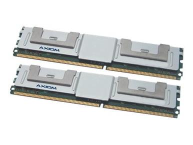 A2257184-AX -- Axiom AX - DDR2 - 8 GB: 2 x 4 GB - FB-DIMM 240-pin - 667 MHz / PC2-5300 - fully buffered - -- New