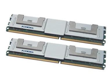 A2257185-AX -- Axiom AX - DDR2 - 8 GB: 2 x 4 GB - FB-DIMM 240-pin - 667 MHz / PC2-5300 - fully buffered - -- New