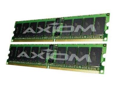 311-3603-AX -- Axiom AX - DDR2 - 4 GB: 2 x 2 GB - DIMM 240-pin - 400 MHz / PC2-3200 - registered - ECC -  -- New