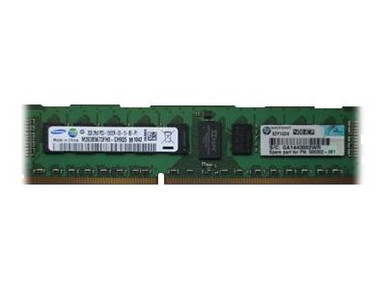 501533-001 -- HPE TDSourcing - DDR3 - 2 GB - DIMM 240-pin - 1333 MHz / PC3-10600 - CL9 - 1.5 V - registe -- New