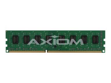 MP1333/32GB-AX -- Axiom AX - DDR3 - 32 GB: 8 4 GB - DIMM 240-pin - 1333 MHz / PC3-10600 - unbuffered - ECC -- New