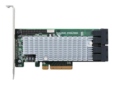 RR3740A              -- ROCKETRAID 3740A RAID HBA       12G PCIE 3.0 X8 SAS/SATA RAID 5/6   -- New