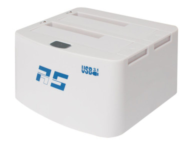 RS3122B              -- 2BAY USB 3.1 DRIVE DOCK         2XUSB 3.1 TYPE-B PORTS/2XSATA BAYS  -- New
