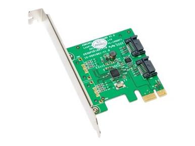 SY-PEX40039          -- 2PORT SATA III PCIE 2.0 X1 HARD DRIVE CONTROLLER CARD SY-PEX40039   -- New