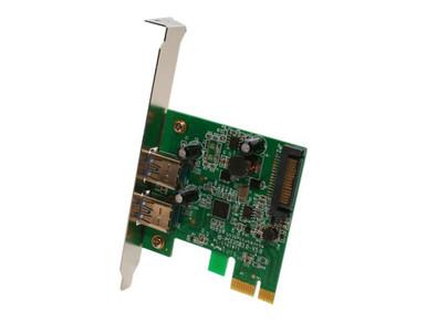 SY-PEX20124          -- 2PORT USB 3.0 PCIE X1 CARD      ADAPTER CARD SY-PEX20124            -- New