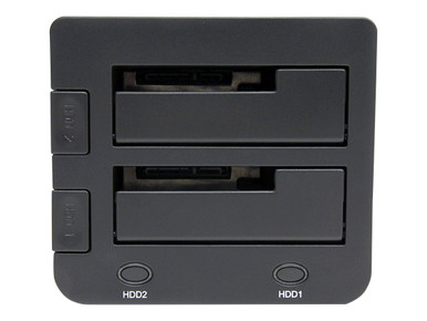 SDOCK2U33 -- StarTech.com USB 3.0 Dual Hard Drive Docking Station with UASP for 2.5 / 3.5in HDD / SSD - -- New