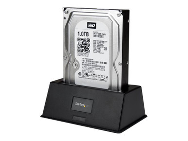 SDOCKU33BV -- StarTech.com USB 3.0 SATA III Docking Station SSD / HDD with UASP - External Hot-Swap Dock -- New