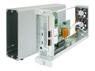 RS6661A-MSAS2 -- THUNDERBOLT 3 TO 8X 6G SAS RAID 8X 6G SAS/SATA CHAN. / X2 SFF-8088  -- New