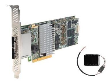 RS25SB008 -- Intel RAID Controller RS25SB008 - Storage controller (RAID) - 8 Channel - SATA 6Gb/s / SAS -- New