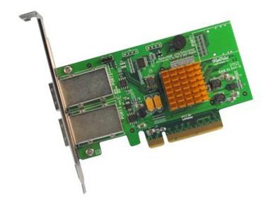 RR2722               -- 8PORT EX 6GB/S SAS RAID PCIE    2X SFF-8088 PCIE 2.0 X8 RAID HBA    -- New