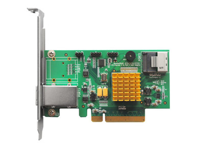 RR2721               -- 4 IN/4 EX PORT 6G SAS RAID PCIE 2X SFF8088/2X SFF8087 PCIE RAID HBA -- New