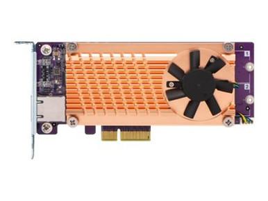 QM2-2P10G1TA -- QNAP QM2-2P10G1TA - Storage controller - M.2 - PCIe low profile - PCIe 2.0 x4 - for QNAP T -- New