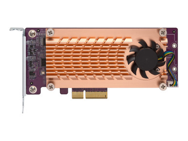 QM2-2S-220A -- QNAP QM2-2S-220A - Storage controller - SATA low profile - PCIe 2.0 x2 - for QNAP TS-1232, -- New