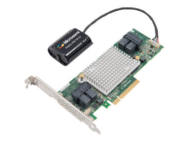 2281600-R            -- 81605ZQ  RAID 0/1/10 SAS 1GB X8 PCIE MD2 16PORT SFF 4 8643 INT      -- New
