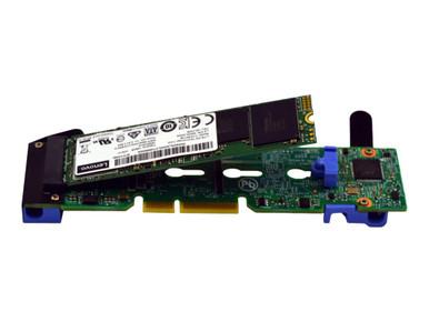 4M17A60519           -- Lenovo ThinkSystem M.2 Enablement Kit - Storage controller - M.2 - SATA 6Gb/s - 600 MBps - -- New