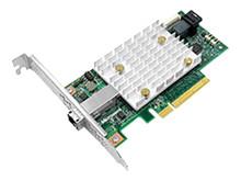 1FV90AA -- MicroSemi SmartHBA2100-4i4e - Storage controller (RAID) - 8 Channel - SATA 6Gb/s / SAS 12Gb/s low pr