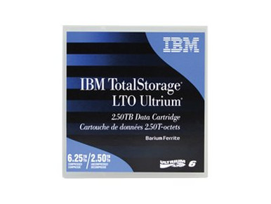 C7978A -- IBM TotalStorage - LTO Ultrium 6 - 2.5 TB / 6.25 TB - labeled