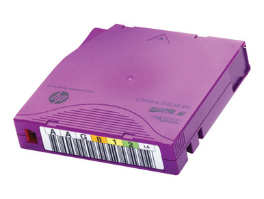C7976AL -- HPE Ultrium RW Custom Labeled Data Cartridge - 20 x LTO Ultrium 6 6.25 TB - labeled - purp -- New