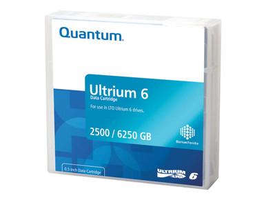 MR-L6LQN-BL -- QUANTUM DATA CARTRIDGE, LTO ULTRIUM 6 (LTO-1) USING MP, LIBRARY PACK, PRE-LABELE -- New