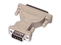 02450 -- C2G - Serial adapter - DB-9 (M) to DB-25 (M) - white -- New
