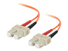 09113 -- C2G 1m SC-SC 62.5/125 OM1 Duplex Multimode PVC Fiber Optic Cable - Orange - Patch cable -  -- New