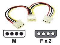 03166 -- C2G - Power cable - 4 pin internal power (F) to 4 pin internal power (M) -- New