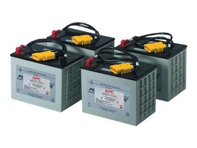 RBC14 -- APC Replacement Battery Cartridge #14 - UPS battery lead acid - black - for P/N: MX3000XR, -- New
