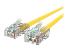 A3L791-10-YLW -- Belkin - Patch cable - RJ-45 (M) to RJ-45 (M) - 10 ft - UTP - CAT 5e - yellow - B2B - for  -- New